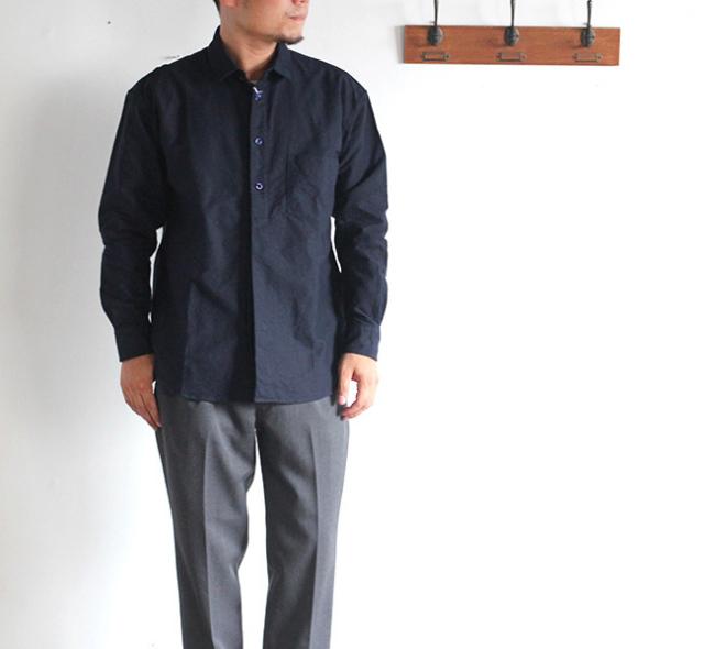 EEL イール 陶器釦のシャツ 17'
