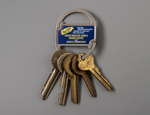 Clip Key Ring 4種類