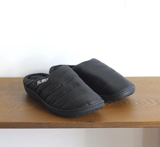 SUBU 冬のサンダル BLACK
