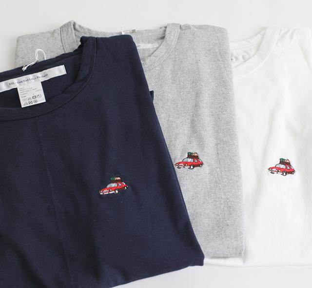 EEL Products イール プロダクツ おじいいさんの車  Tシャツ