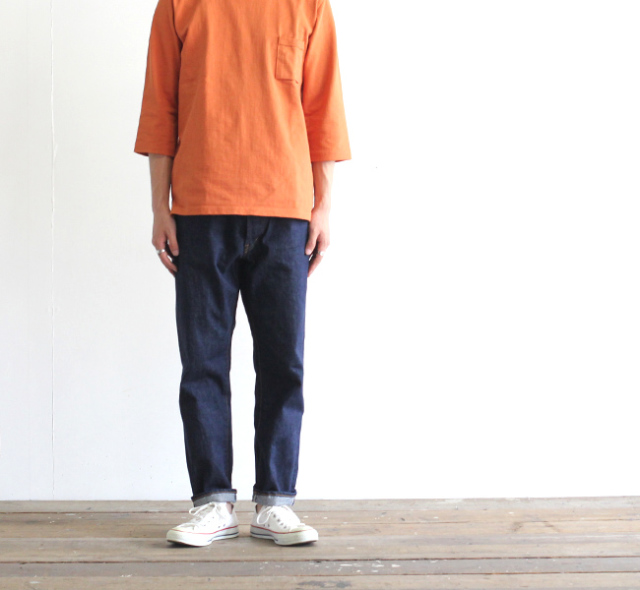 ordinary fits オーディナリーフィッツ 5ポケットアンクルデニムパンツ ワンウォッシュ 5P ANKLE DENIM one wash OM-P020OW