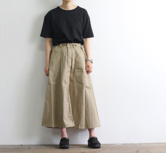 ordinary fits オーディナリーフィッツ NEW JAMES SKIRT ニュー ジェームス スカート  OF-K022