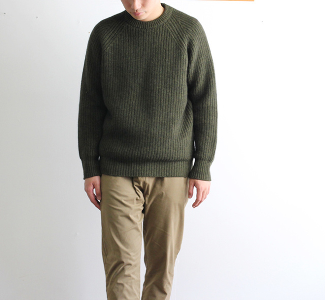 SALE40%OFF ordinary fits オーディナリーフィッツ GARMENT KNIT ガーメントニット OF-N003