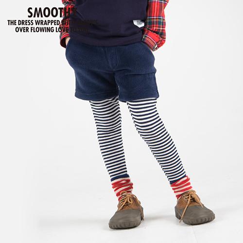 SALE50%  SMOOTHY スムージー 子供服 レイヤーボアパンツ