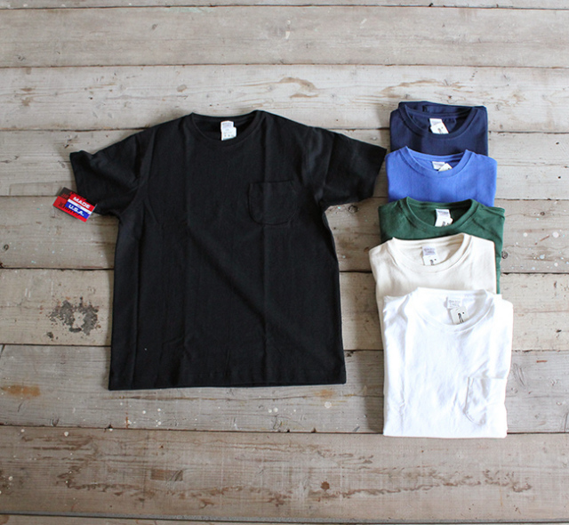 再:CAMBER MAX WEIGHT POCKET SS TEE(聖林公司別注)