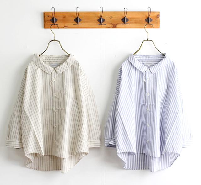 ordinary fits オーディナリーフィッツ レディース バーバーシャツ ストライプ BARBER SHIRTS stripe OF-S050