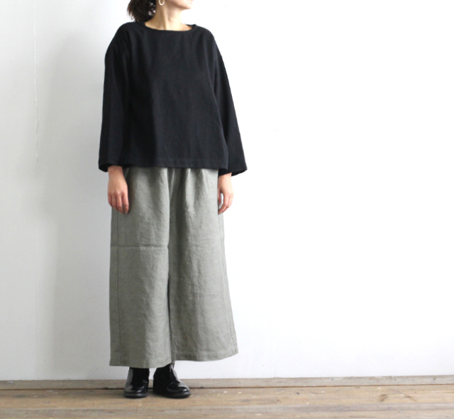 Vlas Blomme ヴラスブラム Wither Linen ヨークギャザーサルエル