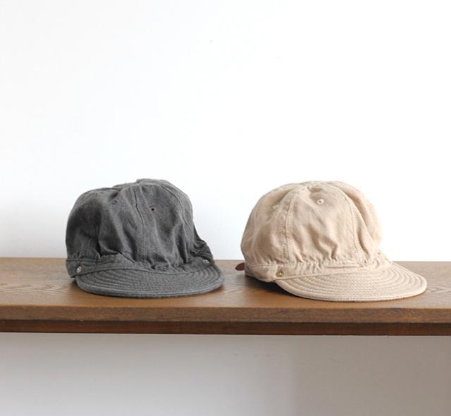 DECHO  KOME CAP TOP DENIM デコ コメキャップ トップデニム