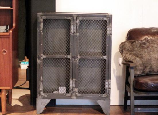 journal standard Furniture ジャーナルスタンダードファニチャー  GUIDEL MESH LOCKER LOW ギデルメッシュロッカーロウ