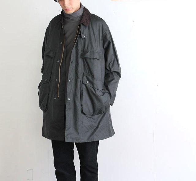 キャプテンサンシャイン ×バブアー  KAPTAIN SUNSHINE × Barbour スタンドカラートラベラーコート KS9FBB01 2色