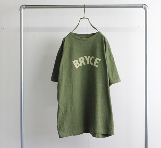 ordinary fits オーディナリーフィッツ プリントTシャツ PRINT-T BRYCE OF-C029