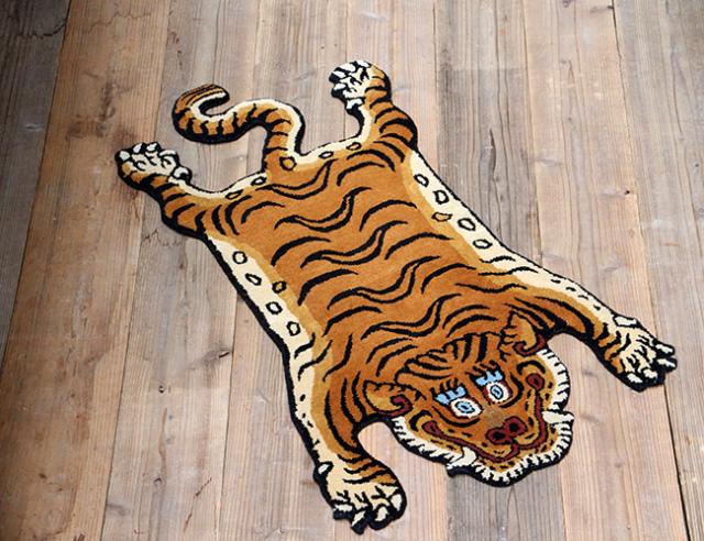 Tibetan Tiger Rug DTTR-01 Large チベタンタイガーラグ DTTR-01 ラージ