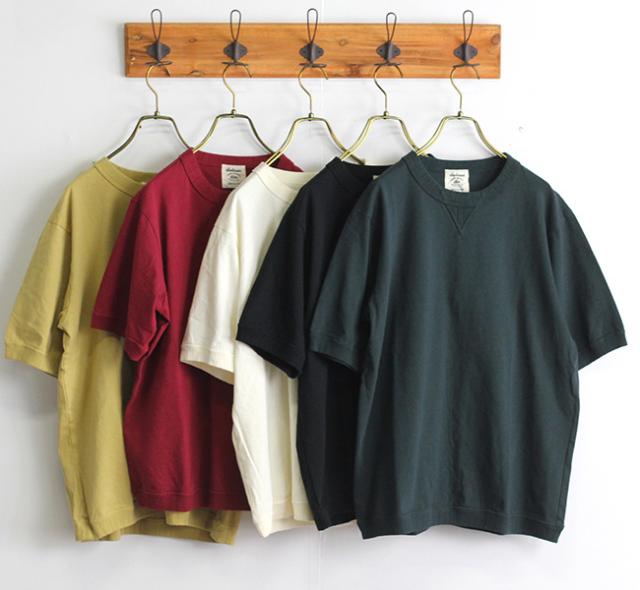 Jackman ジャックマン  JM5632 US Cotton Rib T-Shirt リブTシャツ