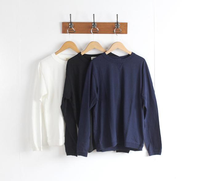 SALE30%OFF Jackman ジャックマン  JM5762 Rib Long Sleeve T-Shirt リブロングスリーブT