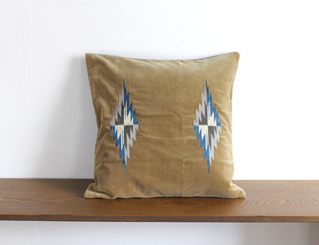 BasShu Cushion Cover Chimayo Motif  クッションカバー チマヨ