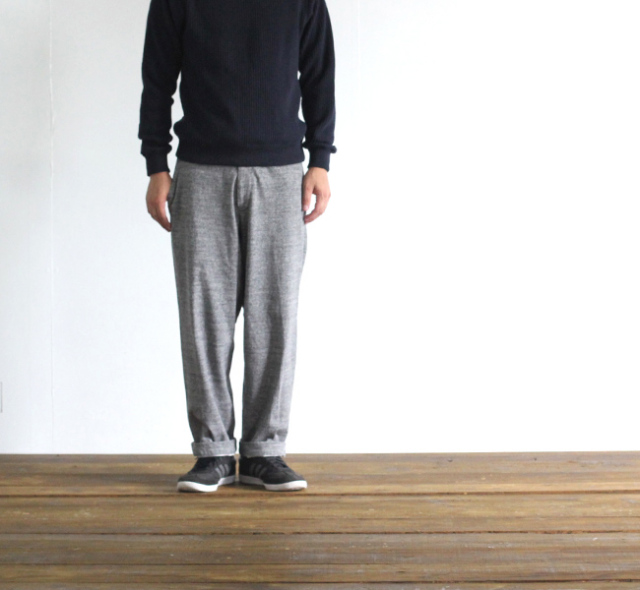 SALE40%OFF Jackman ジャックマン  JM7625 Dotume Wide Trousers 度詰めワイドトラウザー