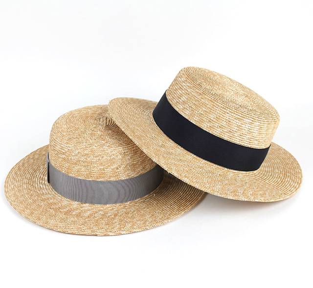 NAPRON ナプロン STRAW BRADE KANKAN 麦わら帽子 カンカン帽 NP-HT01
