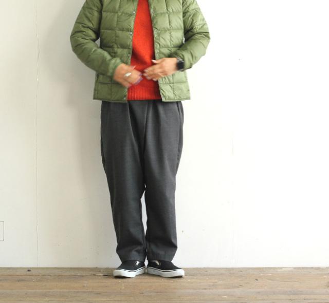 ordinary fits オーディナリーフィッツ ツイストパンツ ウール TWIST PANTS WOOL OF-P090