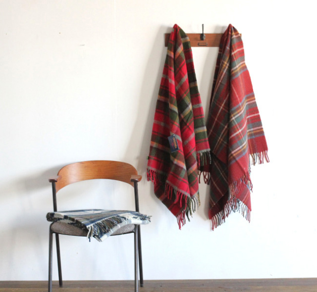 TWEED MILL JULA TARTAN KENN RUG ニーブランケット 70×183