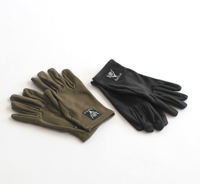 SOUTH2 WEST8 サウスツーウエストエイト INNER GLOVE - POLY FLEECE JO726