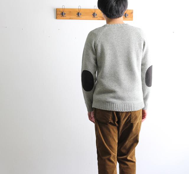 SALE30%OFF soglia  LANDNOAH Sweater ソリア エルボーパッチセーター