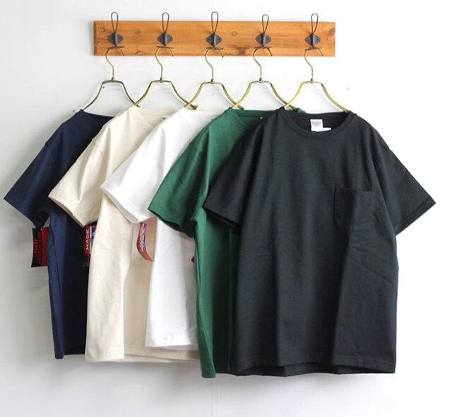 CAMBER MAX WEIGHT POCKET SS TEE マックスウェイト クルーネックポケットTシャツ 聖林公司別注