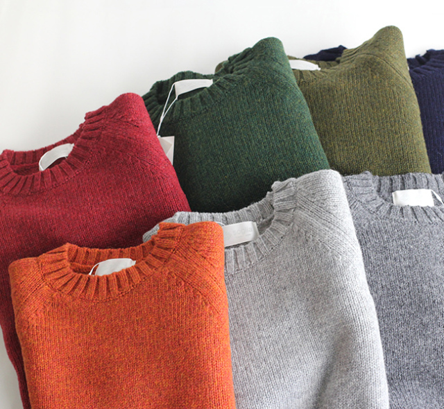 SALE20%OFF soglia  LANDNOAH Sweater ソリア レディース エルボーパッチセーター