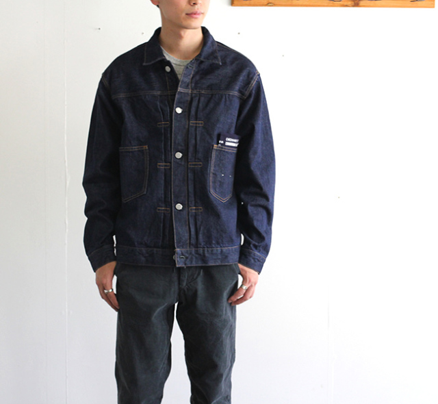 ordinary fits オーディナリーフィッツ デニムジャケット 1ST ワンウォッシュ DENIM JACKET 1ST one wash OF-J013OW