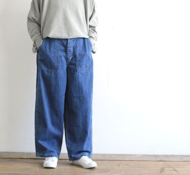 ordinary fits オーディナリーフィッツ レディース  JAMES PANTS used ジェームズパンツ ユーズド OF-P045