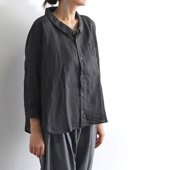 ordinary fits オーディナリーフィッツ レディース BARBER SHIRT バーバーシャツ OF-S044