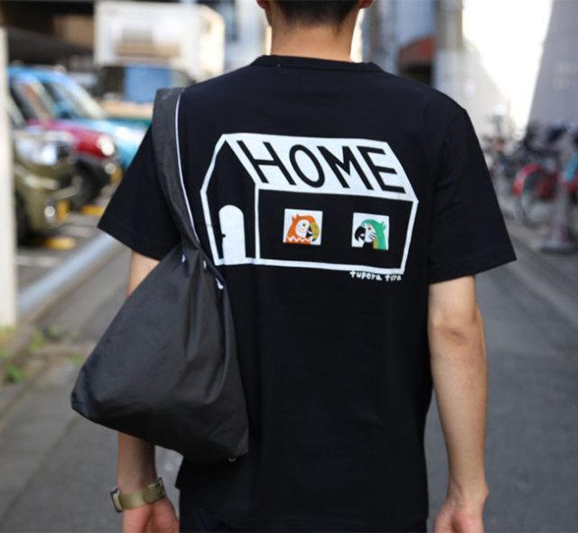 EEL Products イール プロダクツ HOME × tupera tupera オウムホーム Tシャツ
