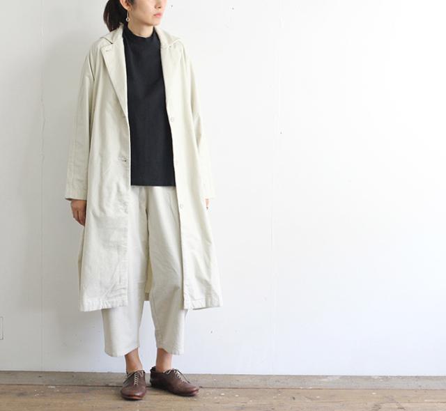 evam eva  エヴァムエヴァ フランネルコットンラグランジャケット flannel cotton raglan jacket E203T076