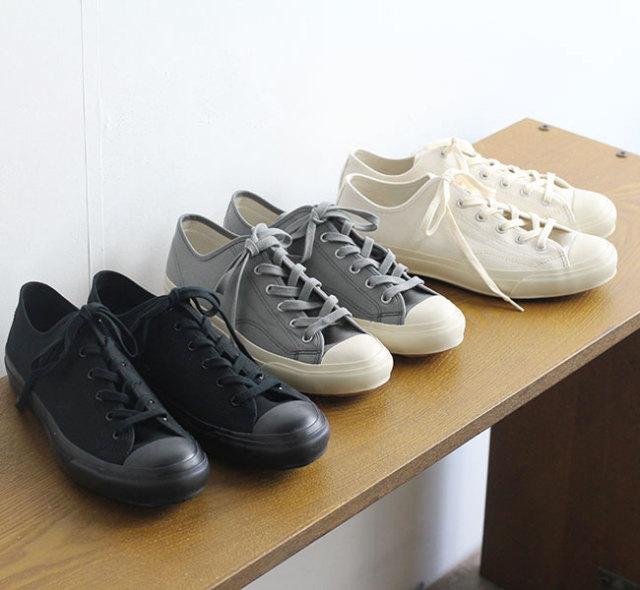 evam eva  エヴァムエヴァ canvas sneaker