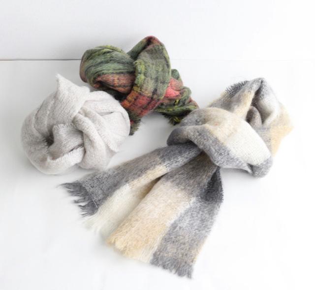 FOXFORD  mohair scarf モヘアスカーフ