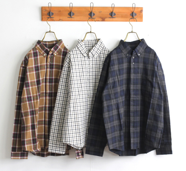 SALE20% nisica ニシカ BDシャツ チェック NIS-925