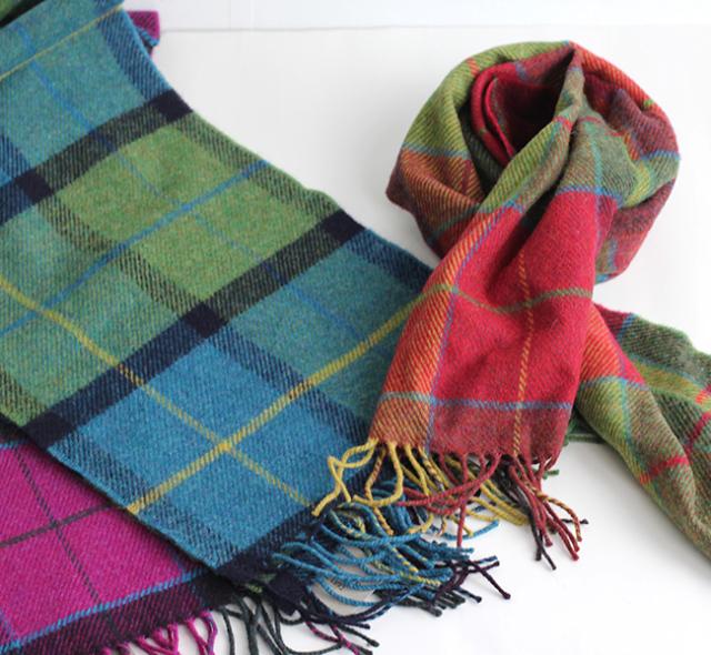 FOXFORD  lambs wool scarf ラムウールスカーフ