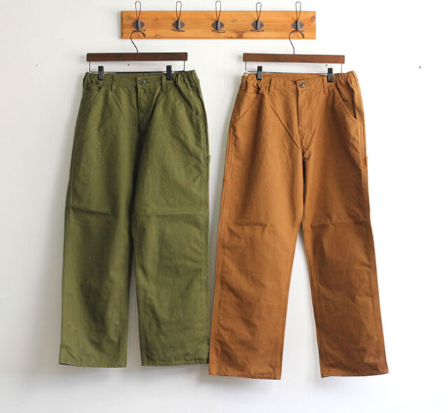 SALE40%OFF ordinary fits オーディナリーフィッツ ユニセックス RELAX PAINTER PANTS OF-P059