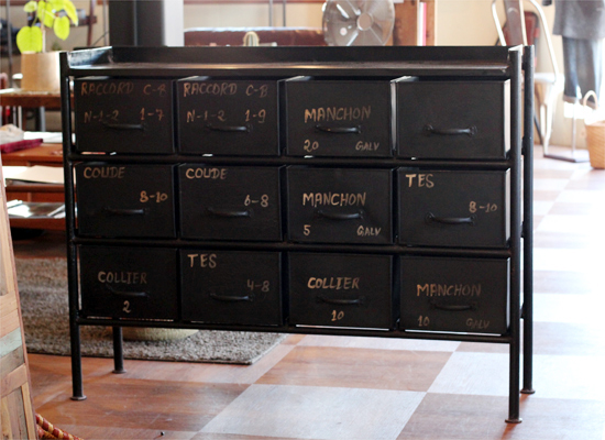 journal standard Furniture ジャーナルスタンダードファニチャー  GUIDEL 12 DROWERS CHEST WIDE ヨコ型