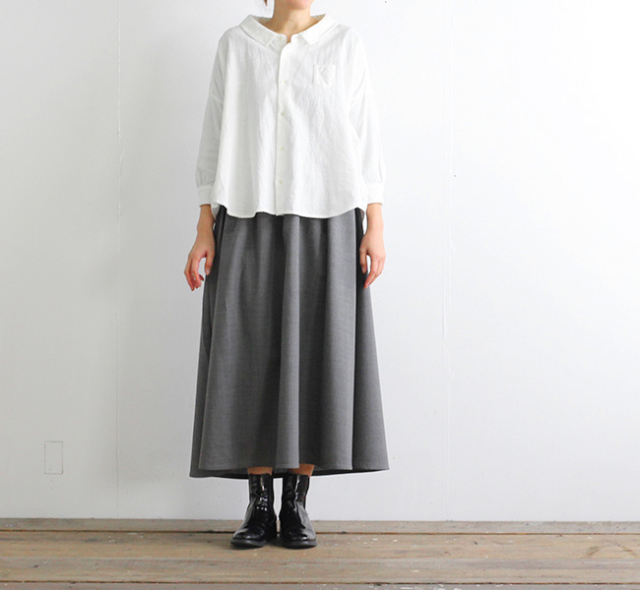 SALE40%OFF ordinary fits オーディナリーフィッツ レディース トラベルスカート サマーウール OF-K006W