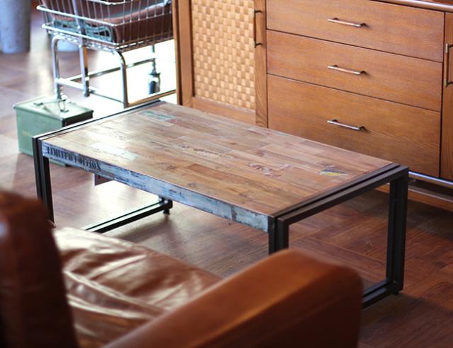 d-Bodhi   FERUM INDUSTRIAL COFFEE TABLE S フェルムインダストリアルコーヒーテーブルS