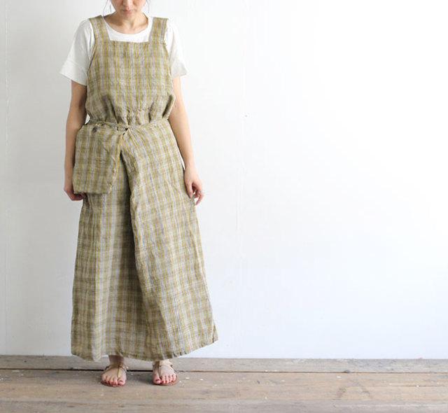 SALE30%OFF Vlas Blomme ヴラスブラム Vintage Check ジャンパースカート 13541801