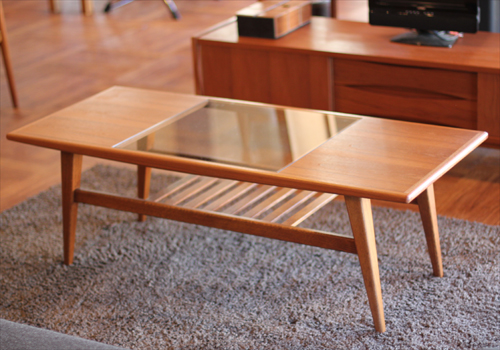 ONE LITTLE DESIGN  /OLH  GLASS LOW TABLE