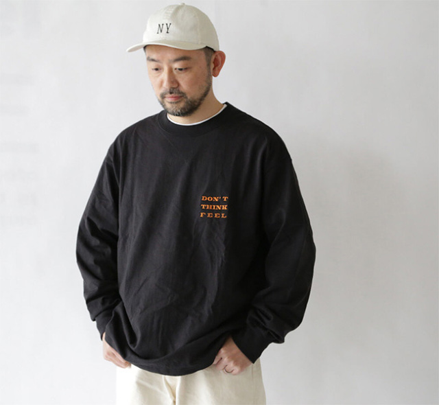 EEL Products イール プロダクツ  DON'T THINK FEEL L/S E-21588 カットソー