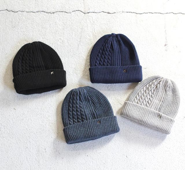 スリープスロープ 3種の柄ニット帽