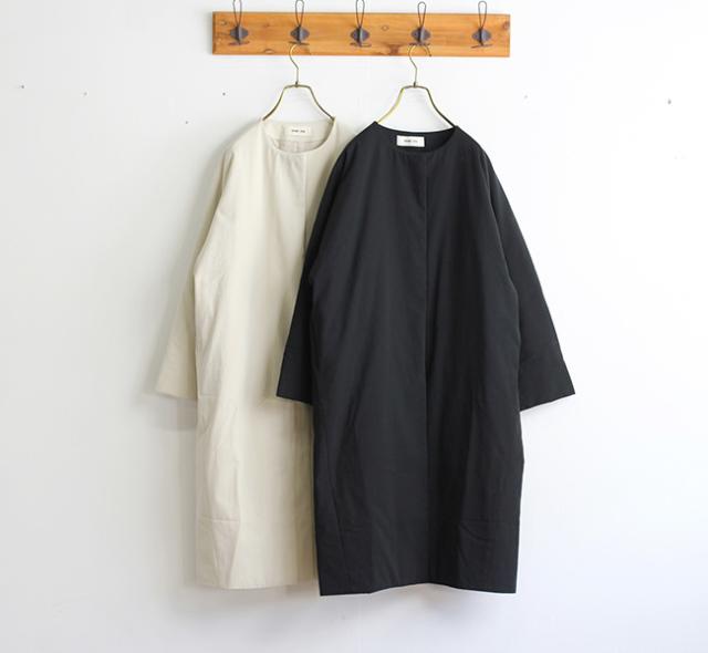 evam eva  エヴァムエヴァ padding dolman long coat E193T150