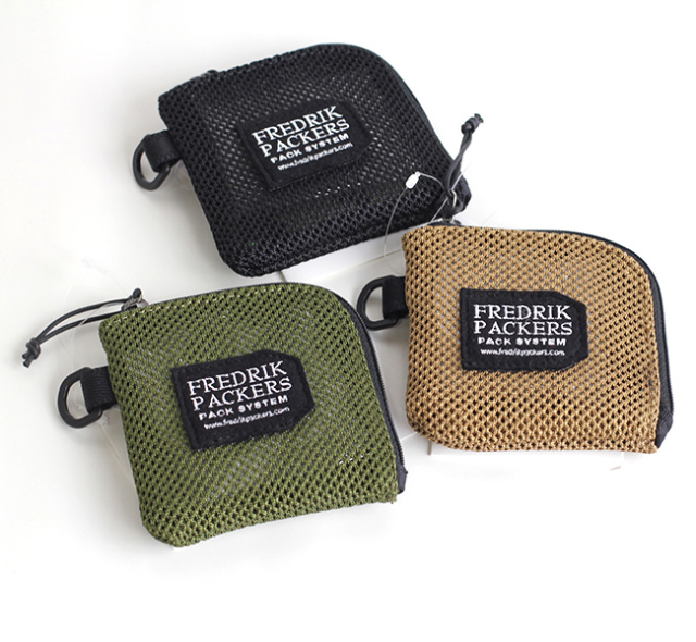FREDRIK PACKERS フレドリックパッカーズ HEAVY MESH COIN CASE メッシュコインケース 再入荷