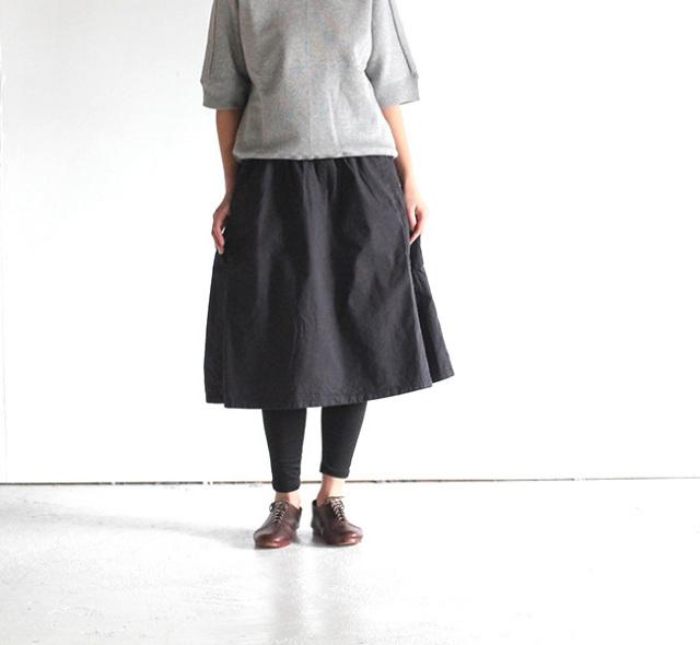 ordinary fits オーディナリーフィッツ レディース ギャザースカート