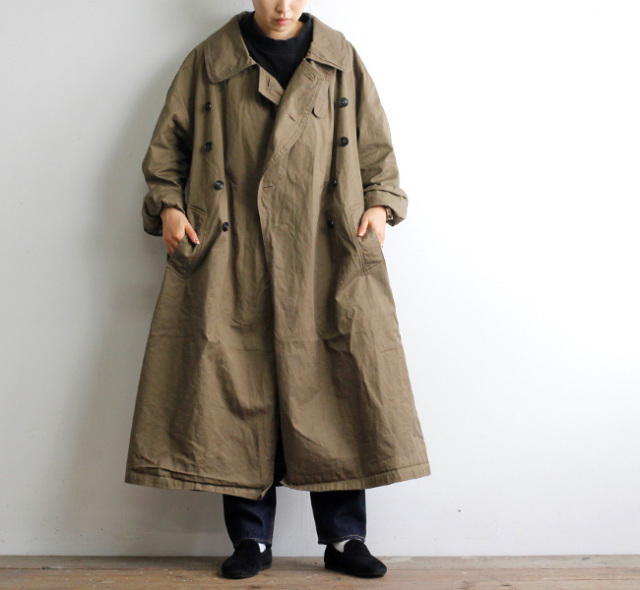 HTS NHT2052DT COTTON DOUBLE OVER COAT ダブルオーバーコート