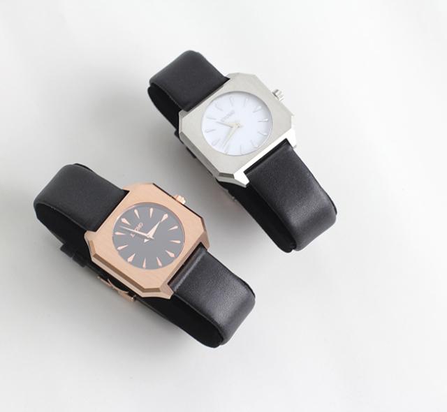 KYOMO WATCH  Premiere Collection Milanese  Vegan Leather BELT 腕時計