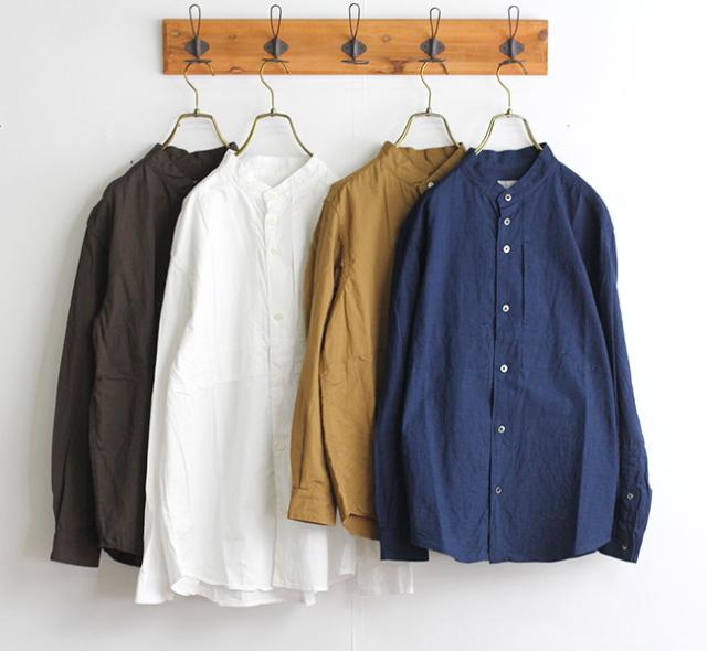 nisica ニシカ  バンドカラーシャツ NIS-930